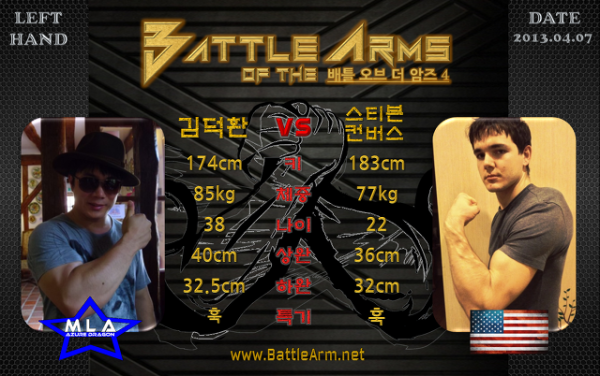 battle of the arms armwrestling supermatches in Korea 4-2
