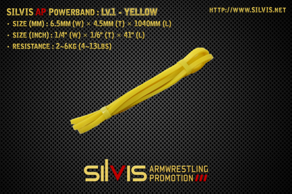 silvis ap powerband level 1 yellow
